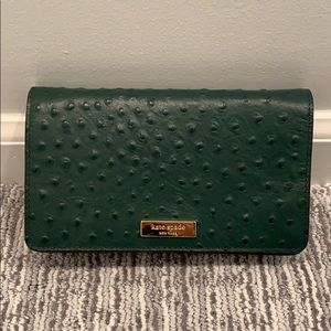 Kate Spade clutch with strap